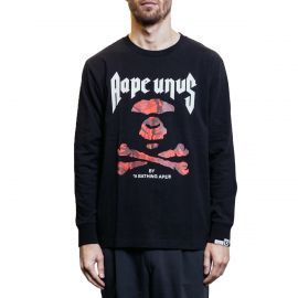 Aape by A Bathing Ape Лонгслив Aape by A Bathing Ape черный