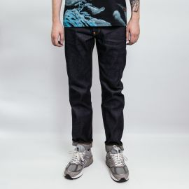 Evisu джинсы Carrot-fit Denim Jeans with Allover Carp-printed D