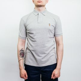 Ralph Lauren Polo Slim Fit Gray