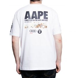 Aape by A Bathing Ape Футболка Audi R8 LMS, AAPE x Audi