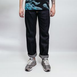 Evisu джинсы Divine Coin print denim