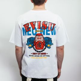 Evisu  футболка Evergreen Daruma Graphic Printed