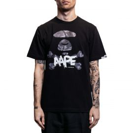 Aape by A Bathing Ape Футболка черная, Aape by A Bathing Ape® Bone Pack