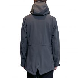 C.P. Company Куртка C.P. Company SOFT SHELL LENS FISHTAIL PARKA JACKET GRAY