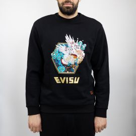 Evisu толстовка Evisu fly sweatshirt