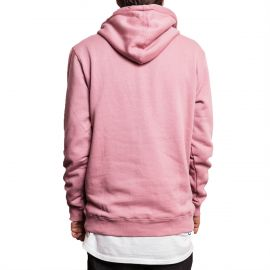 Stussy Толстовка  Stussy Stock Applique Pullover Hoodie розовая