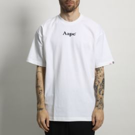 Aape by A Bathing Ape футболка AAPE Fries White
