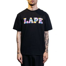 A Bathing Ape Футболка черная, A Bathing Ape LAPE