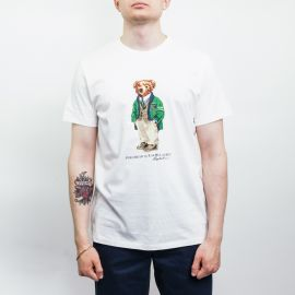 Ralph Lauren Polo Preppy Bear White Tee