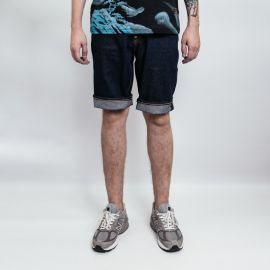 Evisu шорты Daicock Logo Printed Denim
