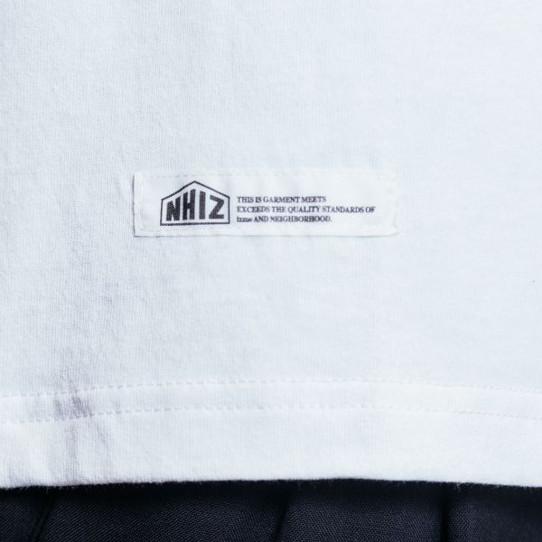 Champion Футболка  Champion x Neighborhood x IZZUE white Sewn logo