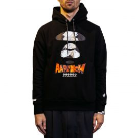 Aape by A Bathing Ape Худи AAPE BY A BATHING APE® x Dragon Ball: Super Silver черный