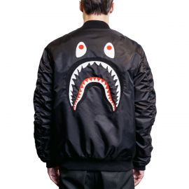A Bathing Ape Куртка A Bathing Ape MA-1 черный