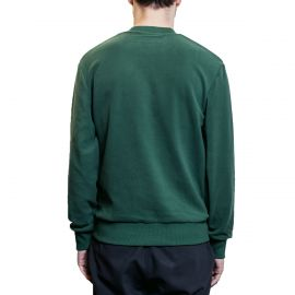 Fred Perry Свитшот Fred Perry Embroidered Crew Neck Fleece зеленый