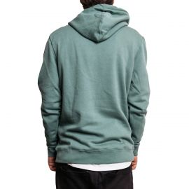 Stussy Толстовка  Stussy Stock Applique Pullover Hoodie зеленая