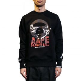 Aape by A Bathing Ape Свитшот черный, Aape x Dragon Ball