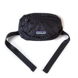 Patagonia Cумка поясная черная, Patagonia Lightweight Travel Hip Pack