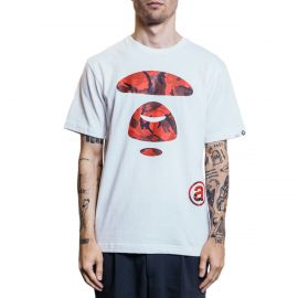 Aape by A Bathing Ape Футболка AAPE BY A BATHING APE® Mono белый