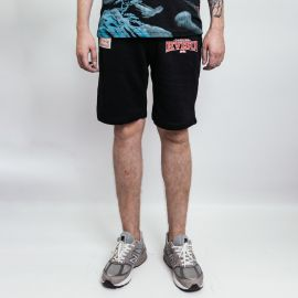 Evisu шорты Allover Daruma, Ebisu and Tiger Daicock Printed Sweat Shorts
