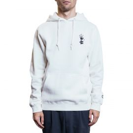 Stussy Худи i-D x Stüssy World Tour Hood Natural белый