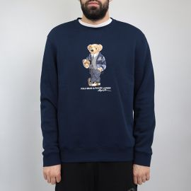 Ralph Lauren толстовка Ralph Lauren Bear by POLO rugby navy