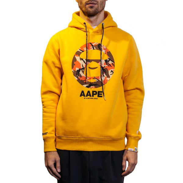 Aape by A Bathing Ape Худи AAPE BY A BATHING APE® Apes And Planet Earth желтый