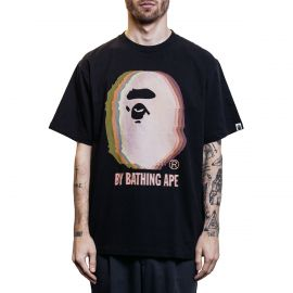 A Bathing Ape Футболка Bape Big Ape Head 3D Black