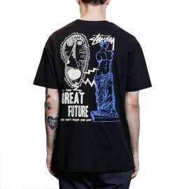 Stussy Футболка Stussy Great Future черная