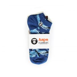 Aape by A Bathing Ape Носки Aape by A Bathing Ape синие