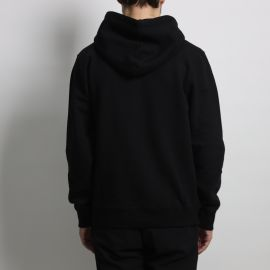 Stussy худи  STUSSY CIRCLE C FLEECE Black