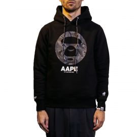 Aape by A Bathing Ape Худи AAPE BY A BATHING APE® Apes And Planet Earth черный