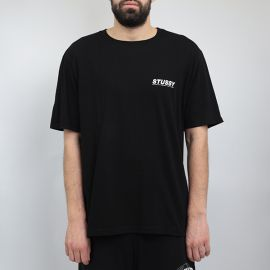 Stussy футболка Stussy sundown black tee