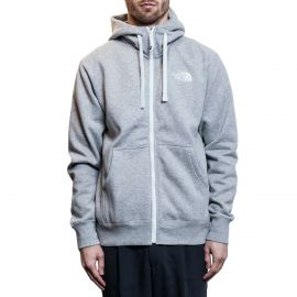 The North Face Худи The North Face Full Zip Hoodie серый