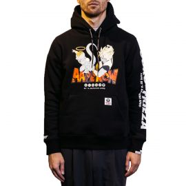 Aape by A Bathing Ape Худи AAPE BY A BATHING APE® x Dragon Ball: Super Gold черный