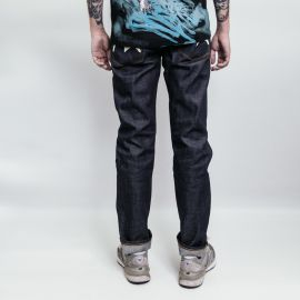 Evisu джинсы Slim fit selvege denim