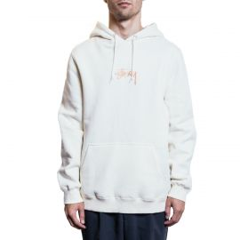 Stussy Худи Stussy Logo Embroidered Hoodie белый