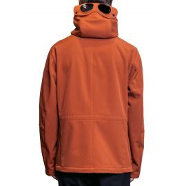 C.P. Company Куртка C.P. Company SOFT SHELL GOGGLE LENS FIELD ORANGE