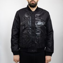 Evisu бомбер Evisu bomber total black